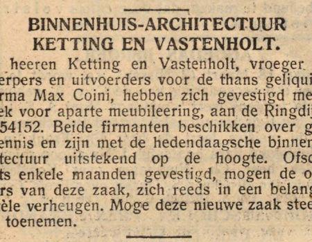 1389 meubelmaker ketting op de ringdijk geheugen van oost for Meubelmaker amsterdam