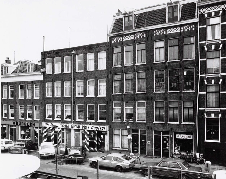 1e Oosterparkstraat 90 - 80 - 1983 .<br />Meest rechtse pand.<br />.<br />Foto: Beeldbank Amsterdam