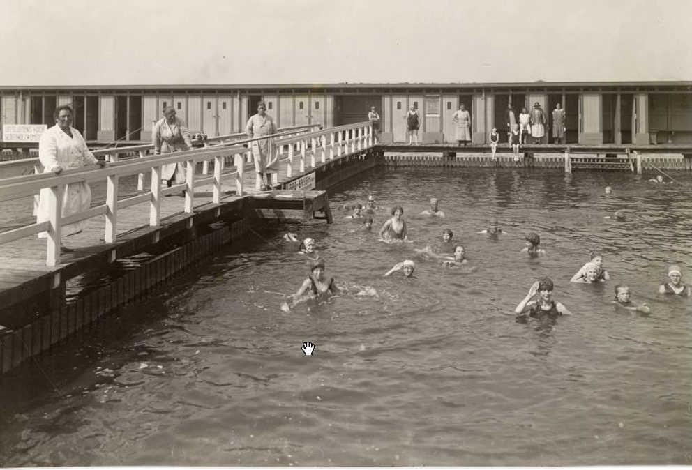 Gemeente zwembad het nieuwe diep merwedekanaaldijk geheugen van oost