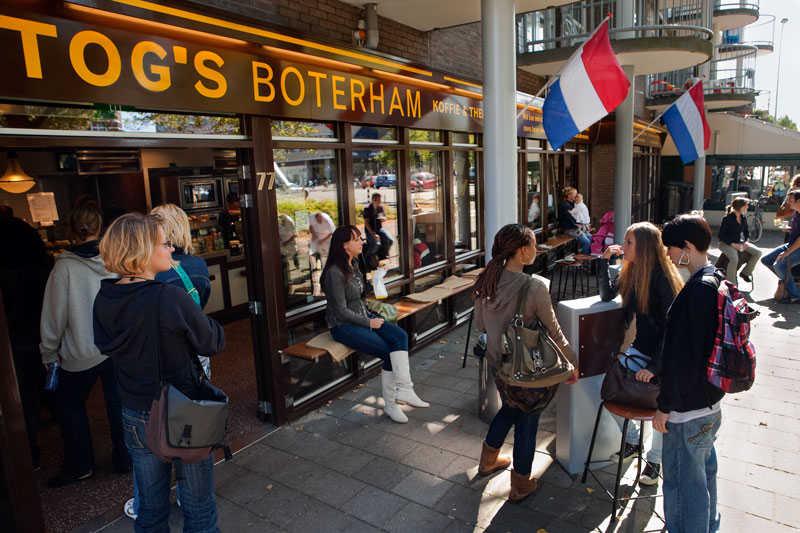 Bakkerij hartog wibautstraat 77 2012 geheugen van oost for Bakkerij amsterdam west