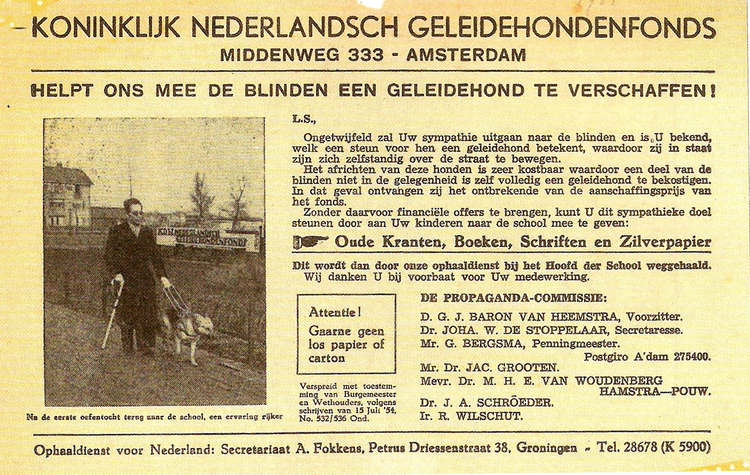 Advertentie- ± 1949
