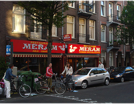 Turks restaurant meram in de pretoriusstraat foto pieter for Meram restaurant amsterdam